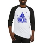 The Hive in Blue Baseball Jersey