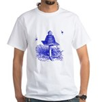 The Hive in Blue White T-Shirt