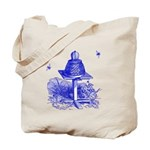 The Hive in Blue Tote Bag