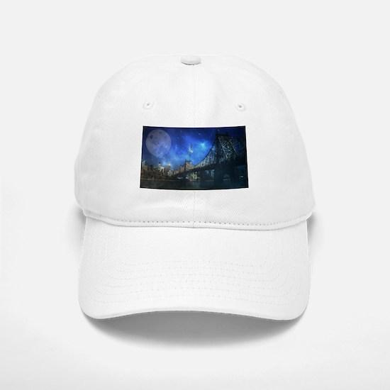 Queensboro bridge - NYC Baseball Baseball Cap
