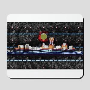 Denver Skyline Mousepad