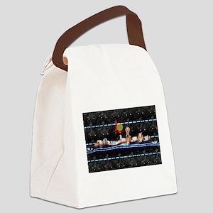 Denver Skyline Canvas Lunch Bag