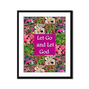 ALWAYS TRUST GOD Framed Panel Print