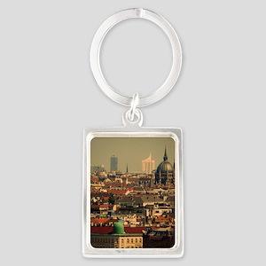 Vienna 06 Portrait Keychain