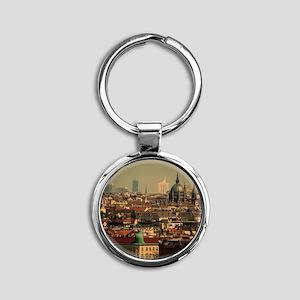 Vienna 06 Round Keychain