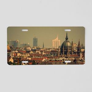 Vienna 06 Aluminum License Plate
