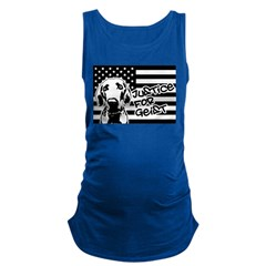 Justice For Geist American Flag Maternity Tank Top