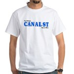 Canal St. White T-Shirt
