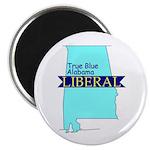 True Blue Alabama LIBERAL Magnet