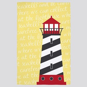 Lighthouse Yellow 4' x 6' Rug