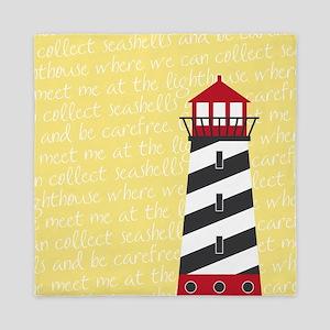 Lighthouse Yellow Queen Duvet