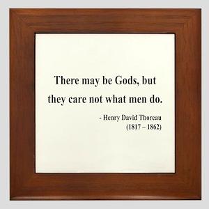 Henry David Thoreau 15 Framed Tile