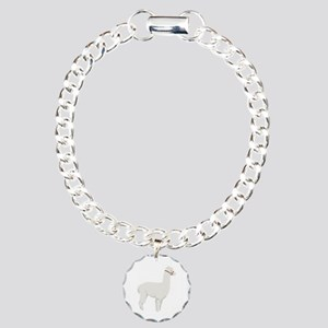 Alpaca Farm Animal Bracelet