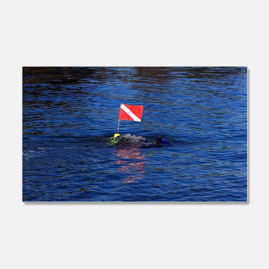 Diver Down Wall Decal