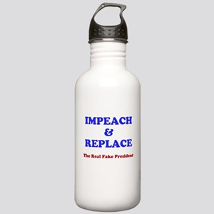IMPEACH & REPLACE Stainless Water Bottle 1.0L