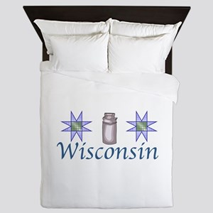 WISCONSIN Queen Duvet