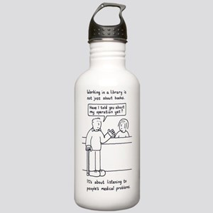 Librarian humour. Stainless Water Bottle 1.0L