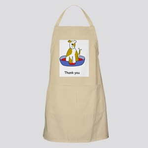 Thanks for looking after the dog. Apron