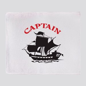 CAPTAIN Throw Blanket
