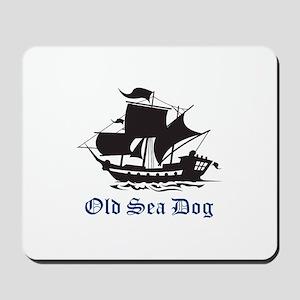 OLD SEA DOG Mousepad