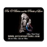 """The Priests of Love"" Mousepad"