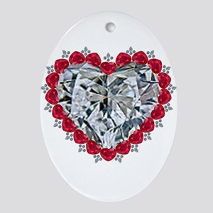 Surrounded by Love Ornament (Oval)