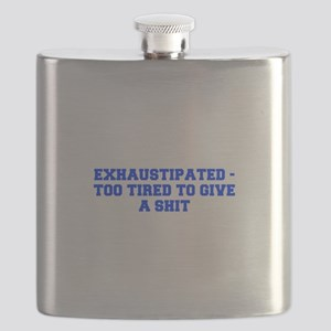 Exhaustipated too tired to give a shit-Fre blue Fl