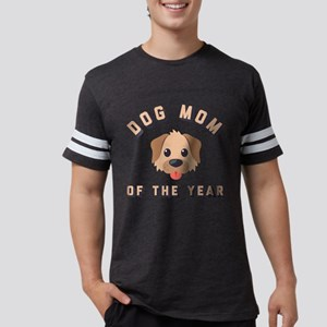 Emoji Dog Mom Mens Football Shirt