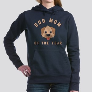 Emoji Dog Mom Women's Hooded Sweatshirt