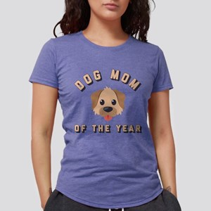Emoji Dog Mom Womens Tri-blend T-Shirt