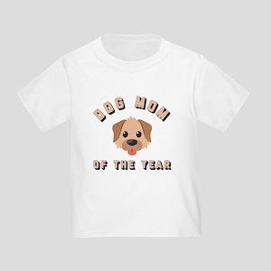 Emoji Dog Mom Toddler T-Shirt