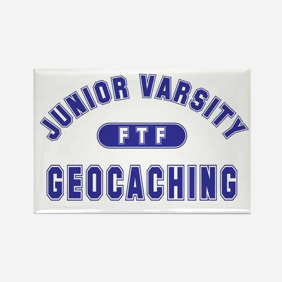 """Junior Varsity Geocaching"" Rectangle Magnet"