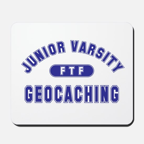 """Junior Varsity Geocaching"" Mousepad"