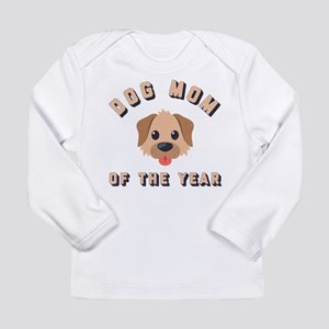 Emoji Dog Mom Long Sleeve Infant T-Shirt