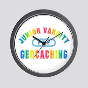 """Junior Varsity Geocaching"" Wall Clock"