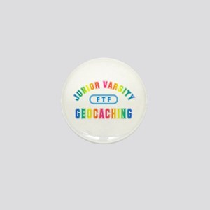 """Junior Varsity Geocaching"" Mini Button"