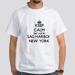 Keep calm we live in Sag Harbor New York T-Shirt