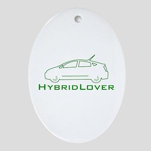Hybrid Lover Oval Ornament
