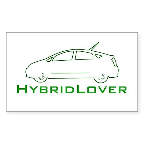 Hybrid Lover Rectangle Sticker