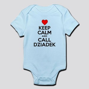 Keep Calm Call Dziadek Body Suit