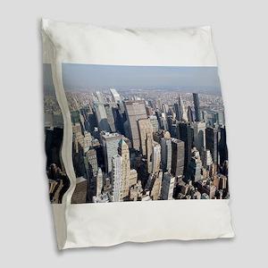 New York City Pro Photo Burlap Throw Pillow