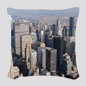 New York City Pro Photo Woven Throw Pillow
