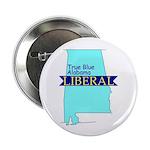 "2.25"" Button (10 pack) True Blue Alabama LIBERAL"