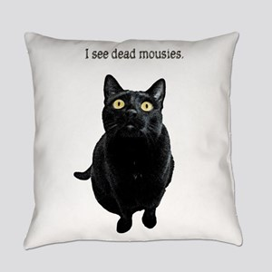 I See Dead Mousies Everyday Pillow