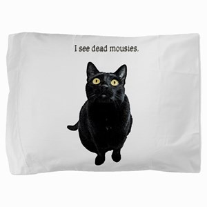 I See Dead Mousies Pillow Sham