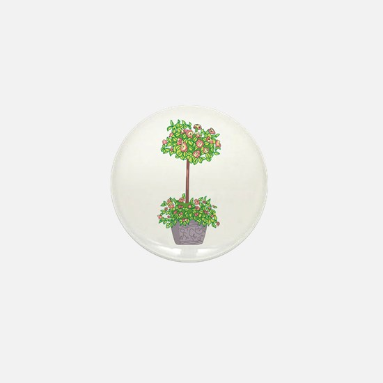 ROSE TOPIARY Mini Button