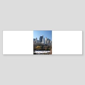 New York City Xmas Pro Photo Bumper Sticker