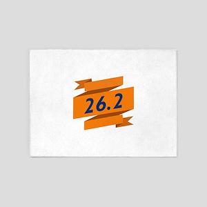 MARATHON BANNER 5'x7'Area Rug