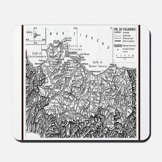 Province of Palermo Mousepad