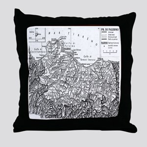 Province of Palermo Throw Pillow